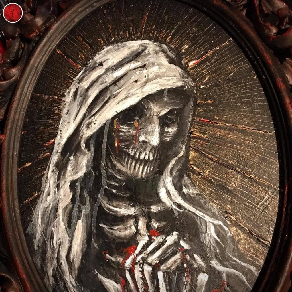 Santa Macabra Muerte RRH036-2020